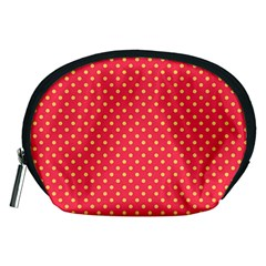 Polka Dots Accessory Pouches (medium)  by Valentinaart