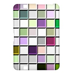 Color Tiles Abstract Mosaic Background Kindle Fire Hd 8 9  by Simbadda
