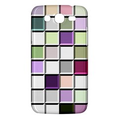 Color Tiles Abstract Mosaic Background Samsung Galaxy Mega 5 8 I9152 Hardshell Case  by Simbadda