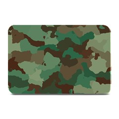 Camouflage Pattern A Completely Seamless Tile Able Background Design Plate Mats by Simbadda