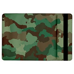Camouflage Pattern A Completely Seamless Tile Able Background Design Ipad Air 2 Flip by Simbadda