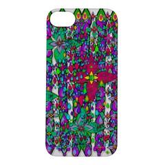 Sunny Roses In Rainy Weather Pop Art Apple Iphone 5s/ Se Hardshell Case by pepitasart