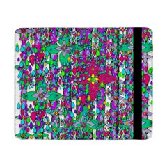 Sunny Roses In Rainy Weather Pop Art Samsung Galaxy Tab Pro 8 4  Flip Case by pepitasart