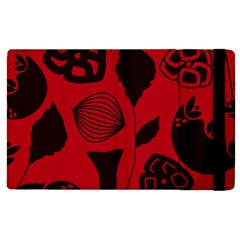 Congregation Of Floral Shades Pattern Apple Ipad 3/4 Flip Case by Simbadda