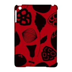 Congregation Of Floral Shades Pattern Apple Ipad Mini Hardshell Case (compatible With Smart Cover) by Simbadda