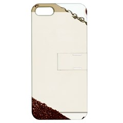 Greeting Card Coffee Mood Apple Iphone 5 Hardshell Case With Stand by Simbadda
