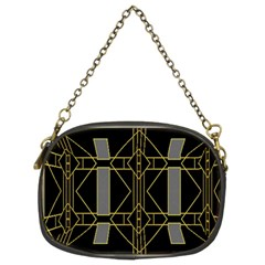Simple Art Deco Style  Chain Purses (two Sides)  by Simbadda