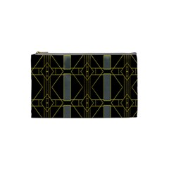 Simple Art Deco Style  Cosmetic Bag (small)  by Simbadda