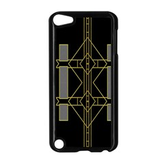Simple Art Deco Style  Apple Ipod Touch 5 Case (black) by Simbadda