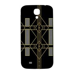 Simple Art Deco Style  Samsung Galaxy S4 I9500/i9505  Hardshell Back Case by Simbadda
