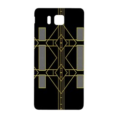 Simple Art Deco Style  Samsung Galaxy Alpha Hardshell Back Case by Simbadda