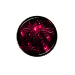 Picture Of Love In Magenta Declaration Of Love Hat Clip Ball Marker (4 Pack) by Simbadda