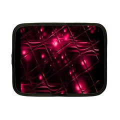 Picture Of Love In Magenta Declaration Of Love Netbook Case (small)  by Simbadda