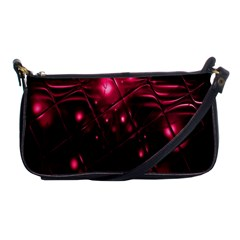 Picture Of Love In Magenta Declaration Of Love Shoulder Clutch Bags by Simbadda
