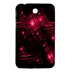 Picture Of Love In Magenta Declaration Of Love Samsung Galaxy Tab 3 (7 ) P3200 Hardshell Case  by Simbadda