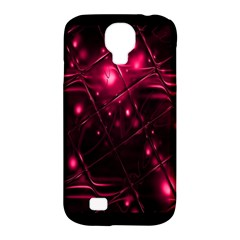 Picture Of Love In Magenta Declaration Of Love Samsung Galaxy S4 Classic Hardshell Case (pc+silicone) by Simbadda