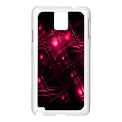 Picture Of Love In Magenta Declaration Of Love Samsung Galaxy Note 3 N9005 Case (white) by Simbadda