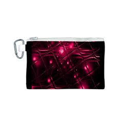 Picture Of Love In Magenta Declaration Of Love Canvas Cosmetic Bag (s) by Simbadda