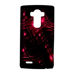Picture Of Love In Magenta Declaration Of Love Lg G4 Hardshell Case by Simbadda