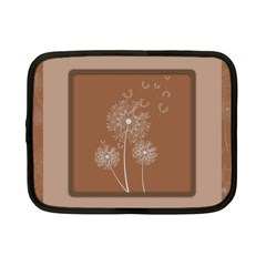Dandelion Frame Card Template For Scrapbooking Netbook Case (small)  by Simbadda
