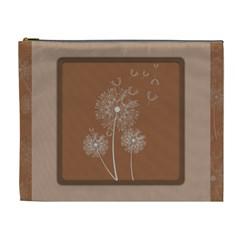 Dandelion Frame Card Template For Scrapbooking Cosmetic Bag (xl) by Simbadda