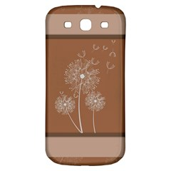 Dandelion Frame Card Template For Scrapbooking Samsung Galaxy S3 S Iii Classic Hardshell Back Case by Simbadda