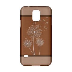 Dandelion Frame Card Template For Scrapbooking Samsung Galaxy S5 Hardshell Case  by Simbadda