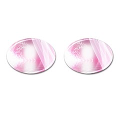 Realm Of Dreams Light Effect Abstract Background Cufflinks (oval) by Simbadda