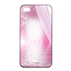 Realm Of Dreams Light Effect Abstract Background Apple Iphone 4/4s Seamless Case (black) by Simbadda