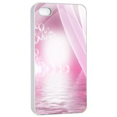Realm Of Dreams Light Effect Abstract Background Apple Iphone 4/4s Seamless Case (white) by Simbadda