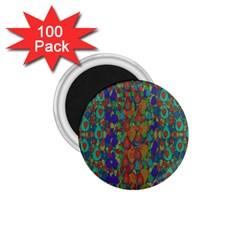 Sea Of Mermaids 1 75  Magnets (100 Pack)  by pepitasart