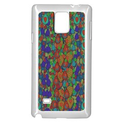Sea Of Mermaids Samsung Galaxy Note 4 Case (white) by pepitasart