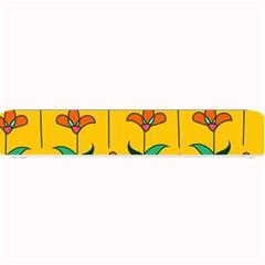 Small Flowers Pattern Floral Seamless Vector Small Bar Mats by Simbadda