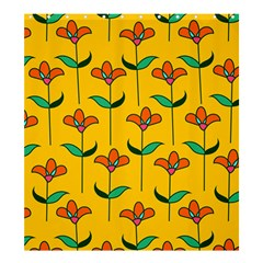 Small Flowers Pattern Floral Seamless Vector Shower Curtain 66  X 72  (large)  by Simbadda
