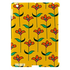 Small Flowers Pattern Floral Seamless Vector Apple Ipad 3/4 Hardshell Case (compatible With Smart Cover) by Simbadda
