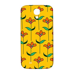 Small Flowers Pattern Floral Seamless Vector Samsung Galaxy S4 I9500/i9505  Hardshell Back Case by Simbadda