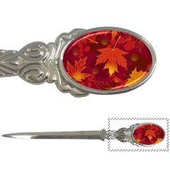 Autumn Leaves Fall Maple Letter Openers by Simbadda