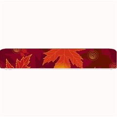 Autumn Leaves Fall Maple Small Bar Mats by Simbadda