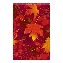 Autumn Leaves Fall Maple Shower Curtain 48  X 72  (small)  by Simbadda