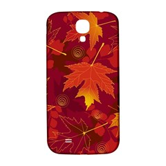 Autumn Leaves Fall Maple Samsung Galaxy S4 I9500/i9505  Hardshell Back Case by Simbadda