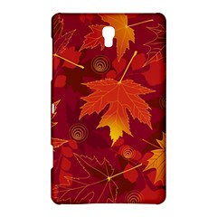 Autumn Leaves Fall Maple Samsung Galaxy Tab S (8 4 ) Hardshell Case  by Simbadda