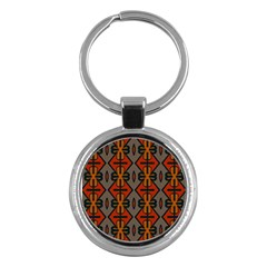 Seamless Pattern Digitally Created Tilable Abstract Key Chains (Round)  by Simbadda