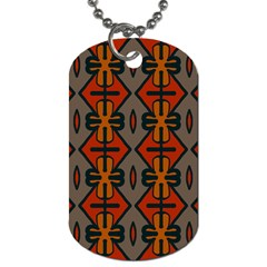 Seamless Pattern Digitally Created Tilable Abstract Dog Tag (two Sides) by Simbadda