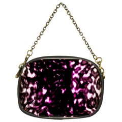 Background Structure Magenta Brown Chain Purses (one Side)  by Simbadda