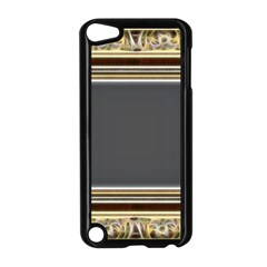 Fractal Classic Baroque Frame Apple Ipod Touch 5 Case (black) by Simbadda