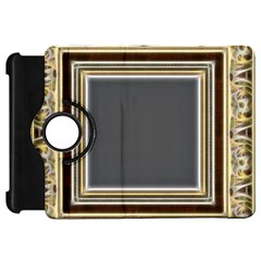 Fractal Classic Baroque Frame Kindle Fire Hd 7  by Simbadda