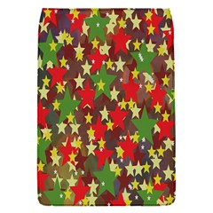Star Abstract Multicoloured Stars Background Pattern Flap Covers (s)  by Simbadda