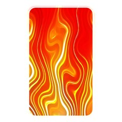 Fire Flames Abstract Background Memory Card Reader by Simbadda