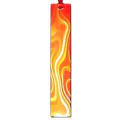 Fire Flames Abstract Background Large Book Marks by Simbadda