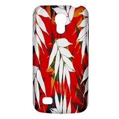 Leaves Pattern Background Pattern Galaxy S4 Mini by Simbadda
